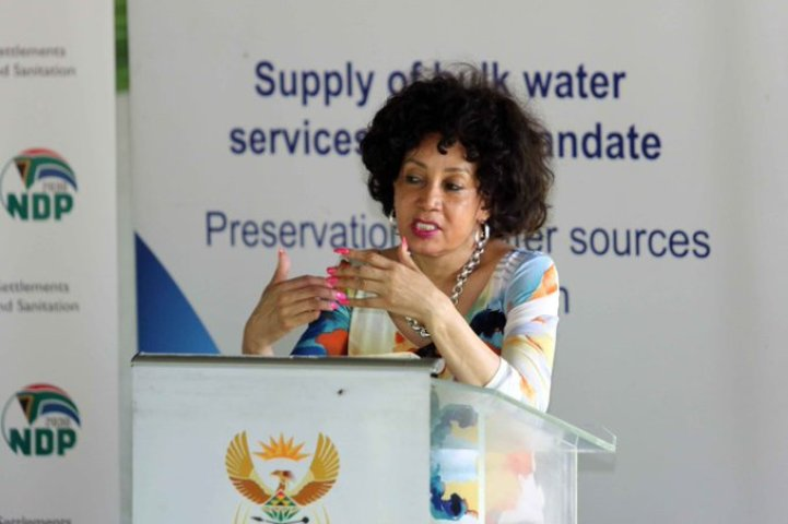 Progress made in improving operational efficiency of water dept: Sisulu
