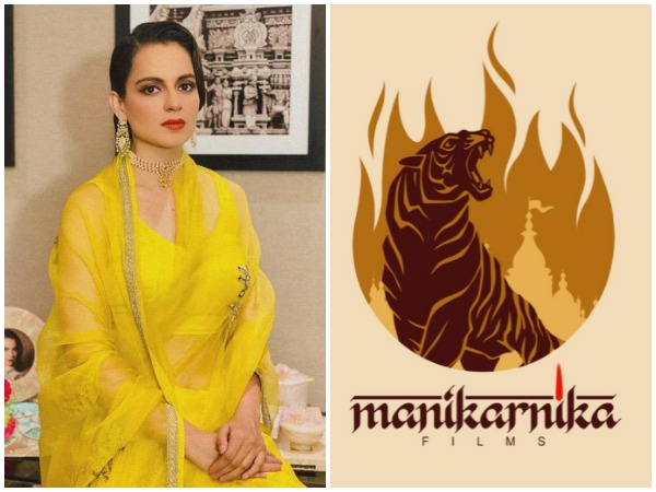 Kangana Ranaut announces digital debut as producer, launches logo of her production house Manikarnika films
