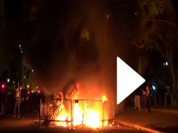 George Floyd protests: Flames engulf 200 year old historic church near White House