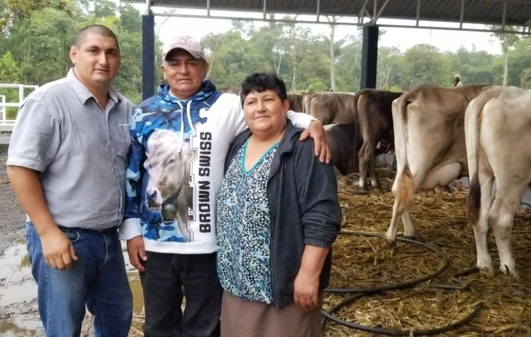 Ecuador: Sustainable cattle farmer eases COVID-19 crisis with free milk for families