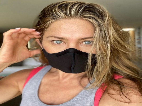 Jennifer Aniston urges people to 'wear a damn mask' to stop COVID-19 spread
