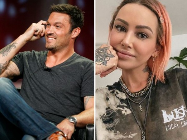 Brian Austin Green spotted on lunch date with Australian model Tina Louise