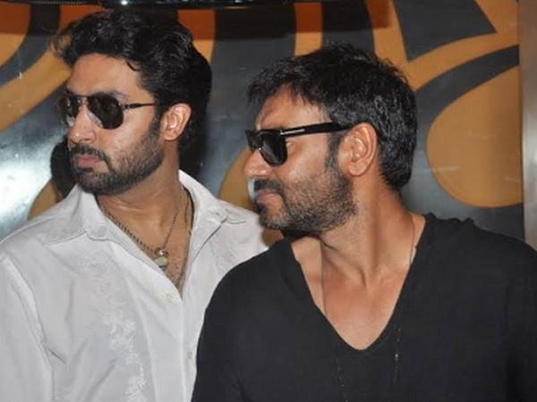 Ajay Devgn congratulates Abhishek Bachchan for completing 20 years in Bollywood