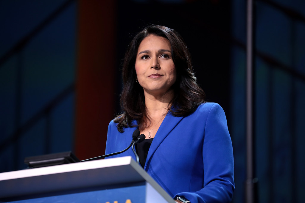 Donald Trump not behaving like a patriot: Tulsi Gabbard