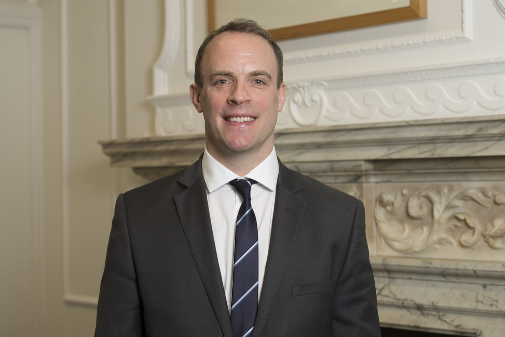 UK's Raab to discuss potential for early trade deal with Australia's Payne
