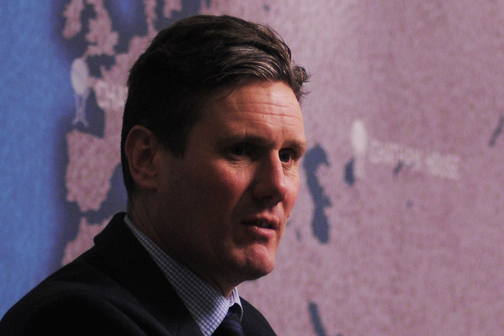 Britain needs a bigger state to recover from pandemic, Labour leader says