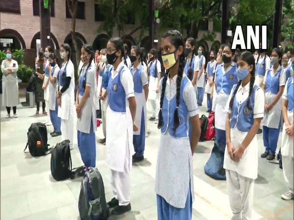 Schools in Delhi reopen amid strict COVID-19 safety guidelines