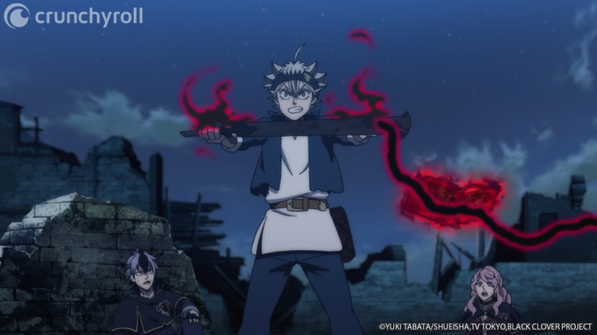 Black Clover Chapter 274 titled 'Outbreak of War', Mereoleona attacks demon
