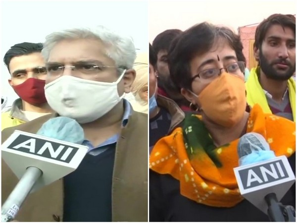 Delhi Minister Gehlot, AAP leader Atishi extend support to protesting farmers