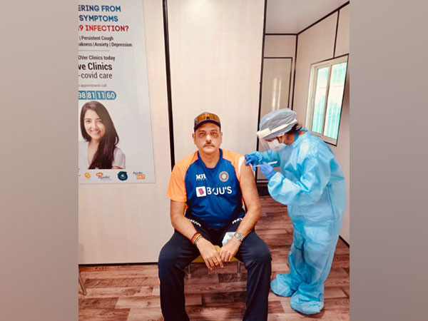 Ind vs Eng: Ravi Shastri gets first dose of COVID-19 vaccine