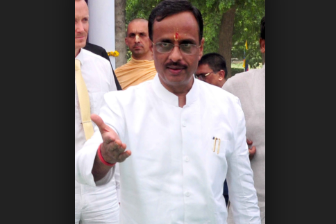 Some people don't leave opportunity to defame Ram Janmabhoomi: UP Dy-CM Dinesh Sharma