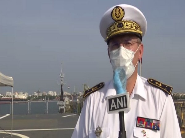 We see Indian Navy as global security provider of Indo-Pacific region: French Rear Admiral Jacques Fayard