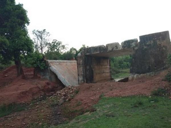 Chhattisgarh: Naxals damage bridge connecting Tumakpal, Tetam villages in Dantewada