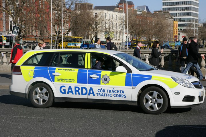 Northern Ireland police say officers targeted in border explosion