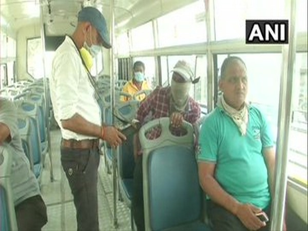 Bus services resume in Gujarat after almost two months