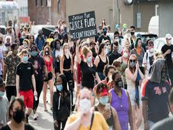 Officials concerned that crowded protests may spark a surge in Covid infections