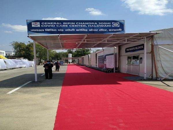 Uttarakhand CM inaugurates 500-bed COVID-19 Care Centre at Haldwani