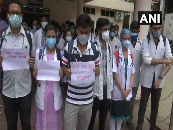 Doctors protest in Guwahati over assault on medical practitioner in Assam's Hojai