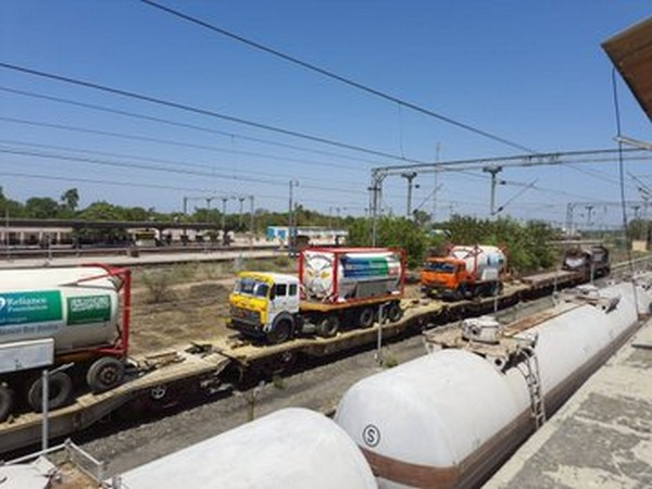 Jharkhand, Orissa, Gujarat  are top 3 contributors to Oxygen Express deliveries