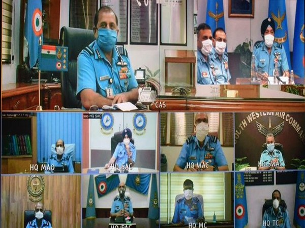 IAF Chief RKS Bhadauria inaugurates Senior Air Staff Officers' Conference