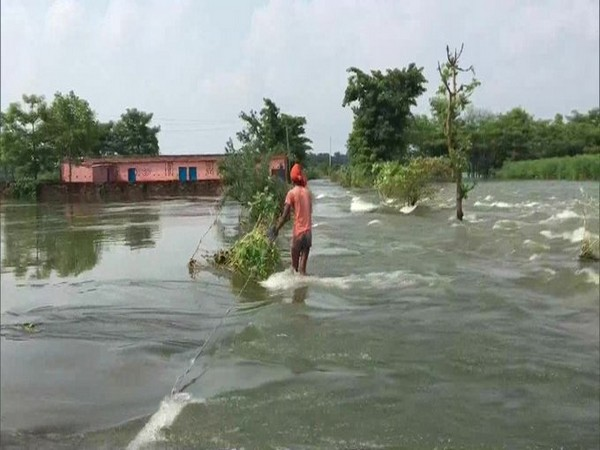 Bihar flood situation worsens, 53.67 lakh people affected