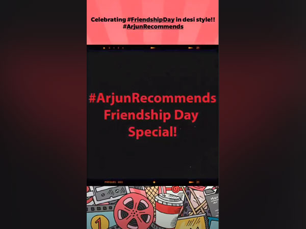 Arjun Kapoor recommends fun movies to watch on Friendship Day