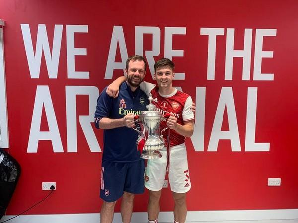 Kieran Tierney thanks Arsenal physio who helped him overcome injury nightmare