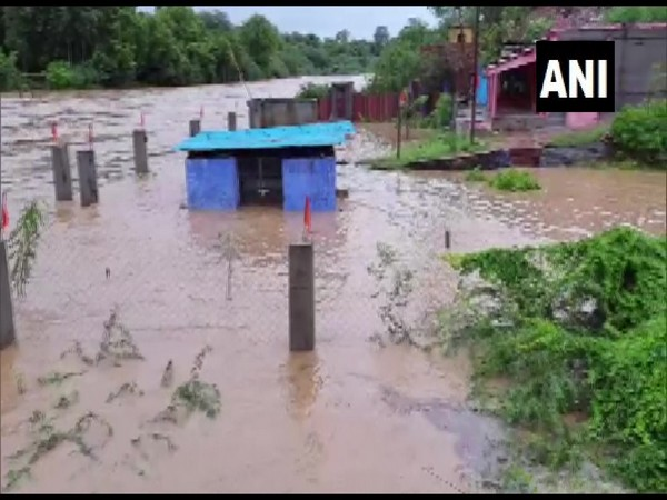 Flood in Karauli district of Rajasthan due to heavy rainfall