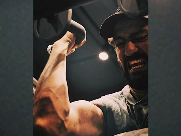 Vicky Kaushal gives a glimpse of his intense workout routine