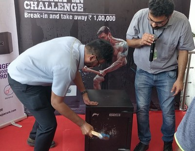 Godrej Security Solutions Completes First Phase of Home Locker Break-in Challenge