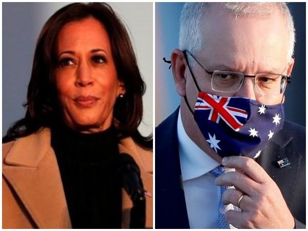 Kamala Harris talks to Australian PM, discusses cooperation on China, Indo-Pacific