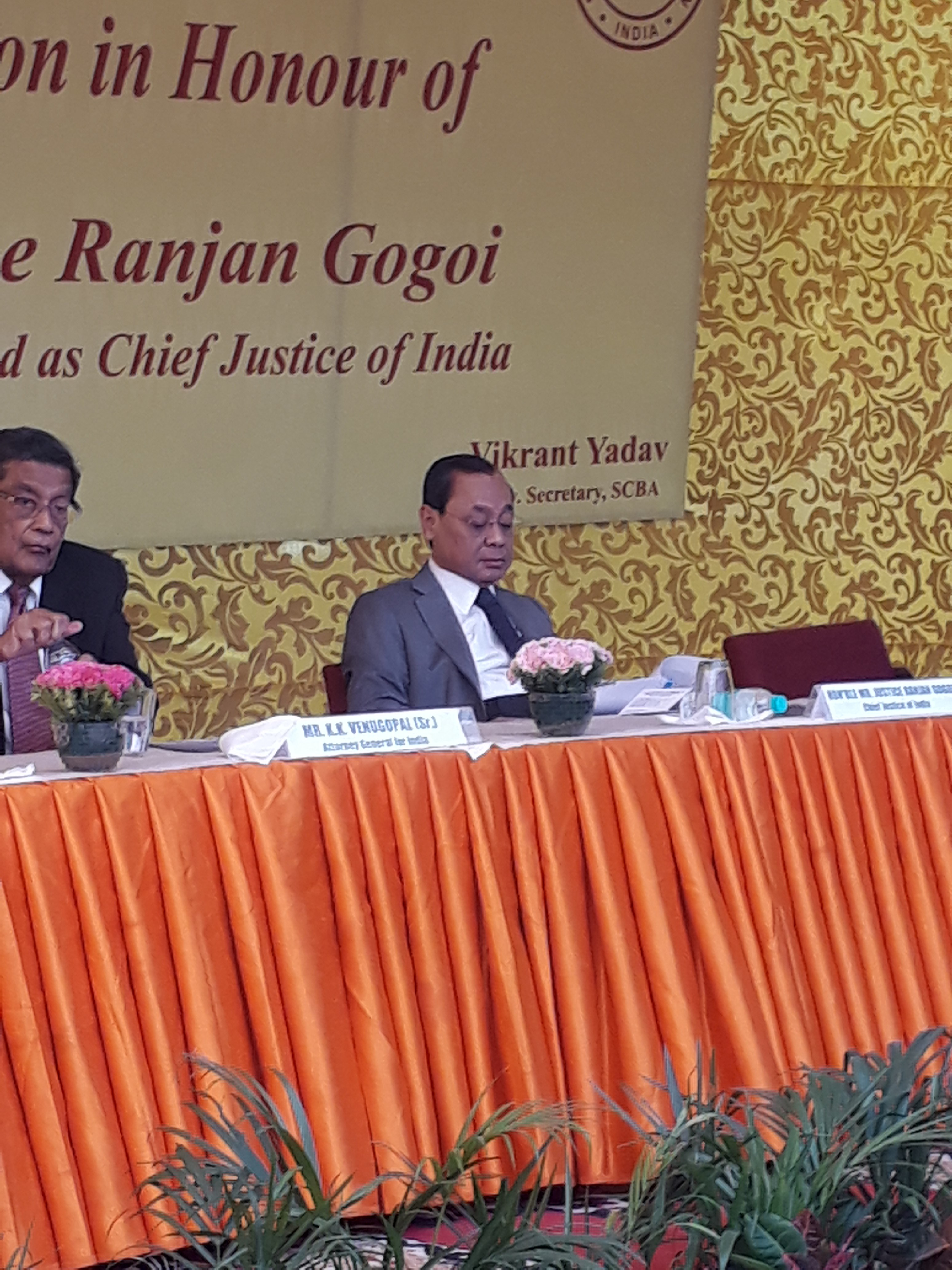 Present times are witnessing belligerent and reckless behaviour by a few individuals and some groups: CJI Ranjan Gogoi