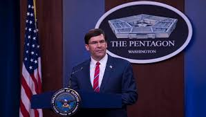 Pentagon chief expresses concern to Chinese counterpart about Beijing's activity in South China Sea