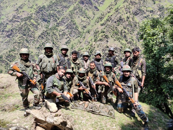 Security forces bust terrorist hideout in J-K's Kishtwar