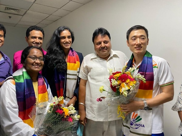 Tokyo Olympics: Olympic medallist PV Sindhu arrives in India