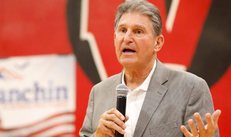 U.S. Senator Manchin wants a pause in Democrats' push for $3.5 trillion spending bill