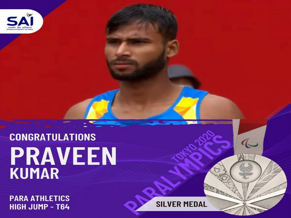Union Ministers wish Praveen Kumar for winning silver medal at Tokyo Paralympics
