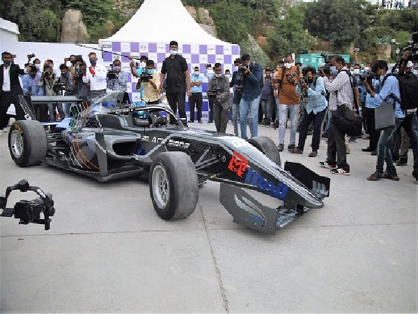 Motorsport came alive with High Octane Launch of formula regional Indian Championship in Hyderabad
