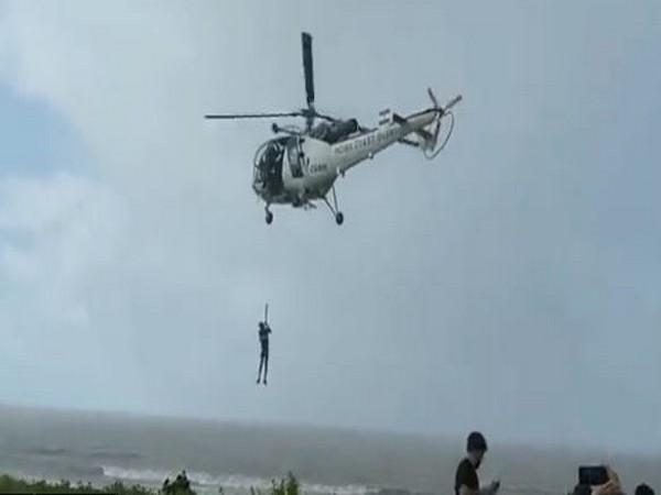 Coast Guard rescues man from launch boat off Maharashtra coast