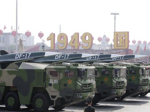 China exhibits Cold War mentality with huge military parade