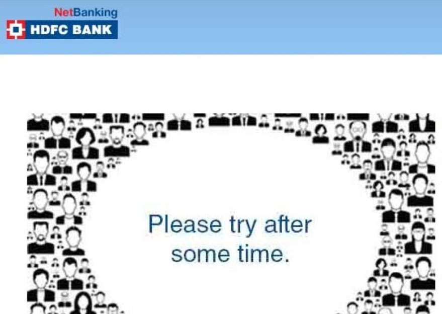 HDFC Bank suggests alternatives for online banking services but customers irked