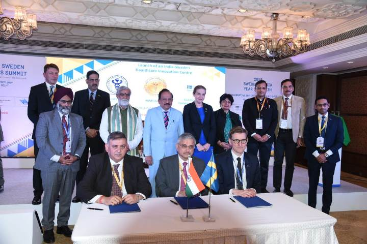 Indian's collaboration with Sweden exemplary and defining: Dr. Harsh Vardhan