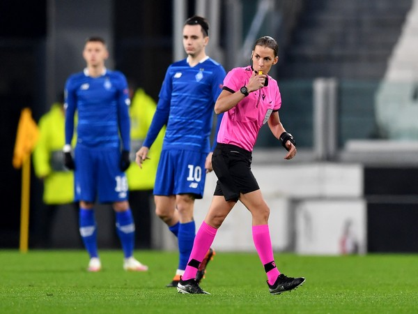 Stephanie Frappart becomes first female to referee in men's Champions League