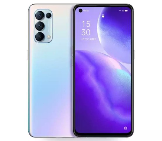 Oppo Reno 5 / Reno 5 Pro 5G listed on JD.com in two memory variants, three colors
