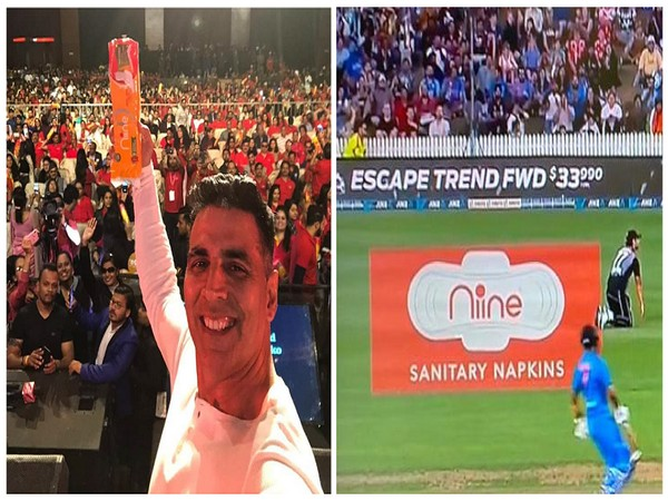 Bold run by Niine Sanitary Napkins; From getting Akshay Kumar to flash a pack of pads to getting one on Indian, International Cricket Grounds