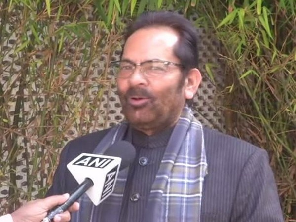 Rahul Gandhi needs to initiate himself on Indian economy: Mukhtar Abbas Naqvi