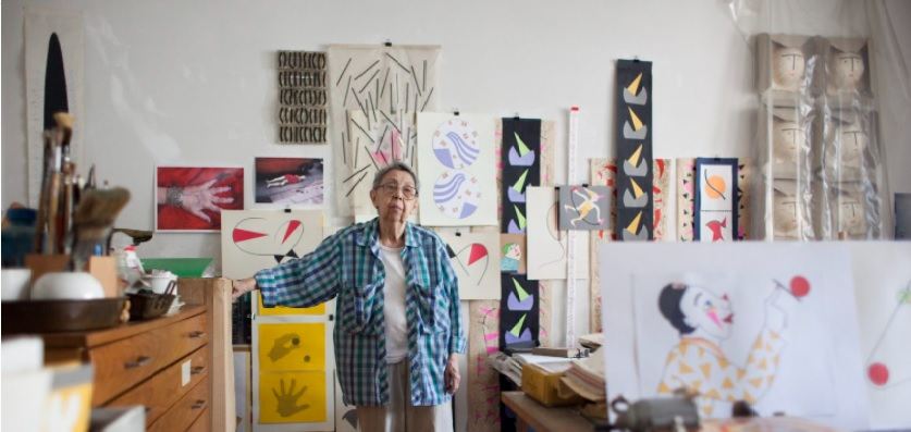 Geta Brătescu: Google Doodle to celebrate Romanian artist on her 95th birthday