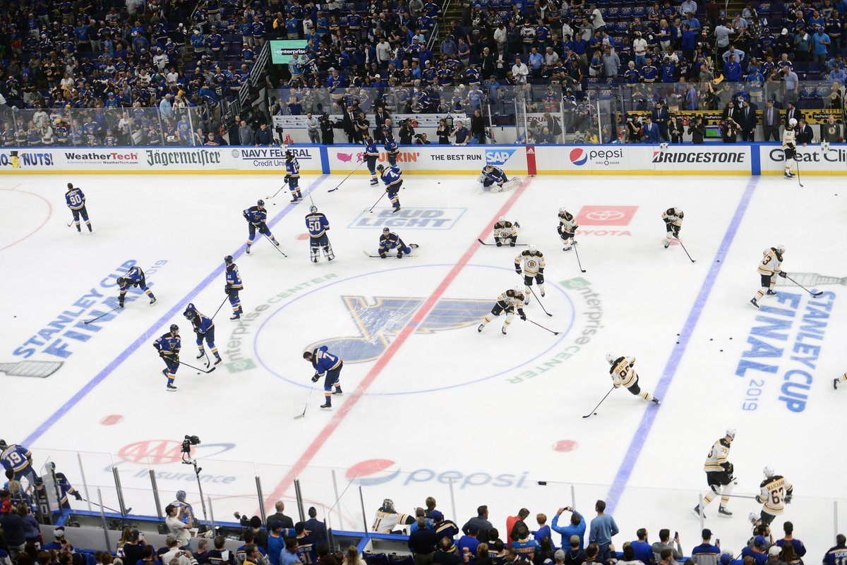 NHL-Blues beat Bruins to clinch maiden Stanley Cup title