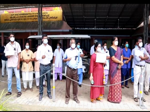 Kerala: Doctors in Alappuzha, Thiruvananthapuram protest against assault on healthcare workers