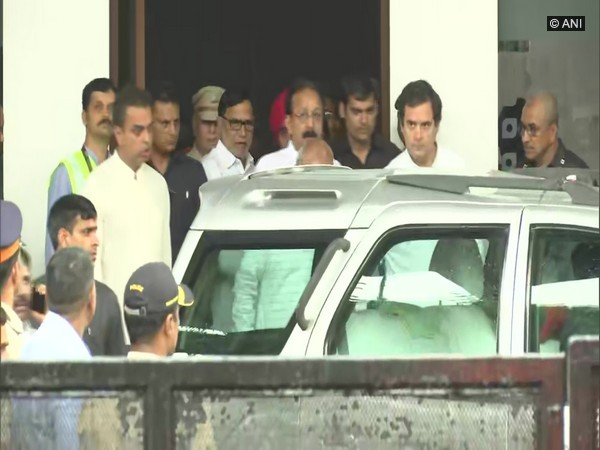 Rahul Gandhi arrives in Mumbai, will appear before court today in RSS defamation case